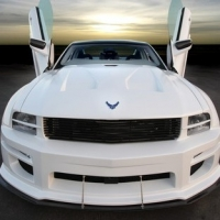 "Ford Mustang ""X-1"" a Dodge Challenger ""Vapor"""